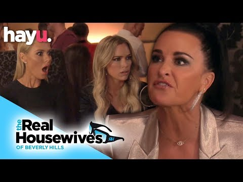 Kyle Richards Devastated After Calling Lisa A Liar | Season 9 | Real Housewives Of Beverly Hills