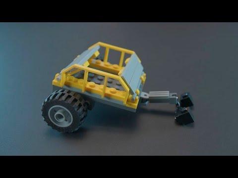 How to Build a Trailer for Robo Explorer - LEGO Creator - Building Tips