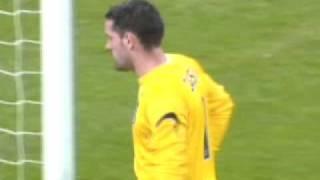 England 2 - 3 Croatia Euro 2008 Qualifier opening goal