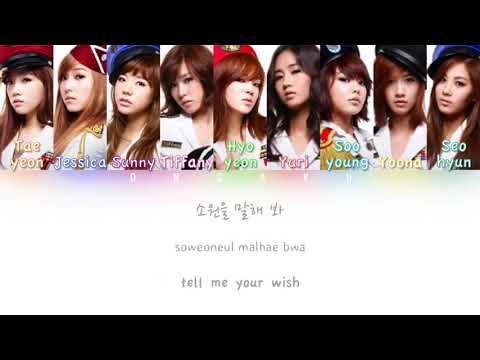 Girls' Generation (소녀시대) - Tell Me Your Wish (Genie) (소원을 말해봐) (지니) | Color Coded HAN/ROM/ENG Lyrics