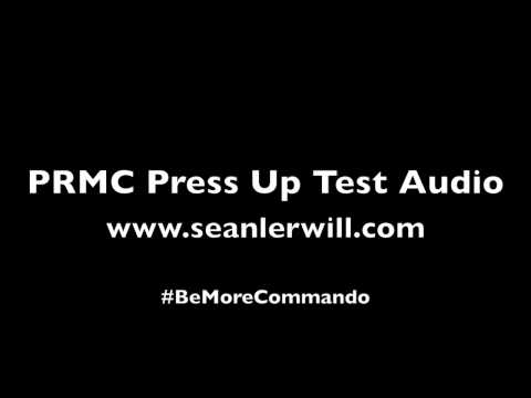 PRMC Press Up Test Audio