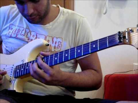 Kostas X - The Maze , Vinnie Moore cover