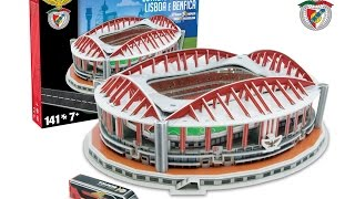 """Estádio da Luz"" del SL Benfica | Nanostad - Puzzle 3D"