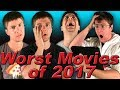 Top 5 WORST Movies of 2017!
