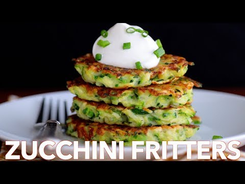 How To Make Easy Zucchini Fritters Must Try Recipe
