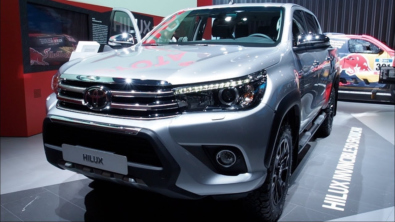 The All New Toyota Hilux Invincible 50 Showcar 2018 In Detail Review