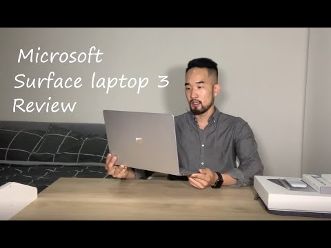 Microsoft surface laptop 3, Review