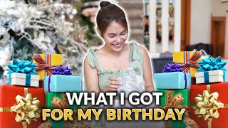 WHAT I GOT FOR MY BIRTHDAY! (OPENING GIFTS) | IVANA ALAWI