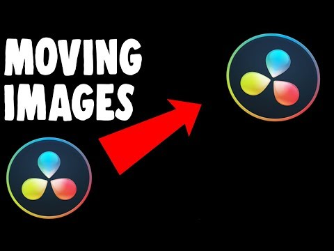 How To Move Images In Da Vinci Resolve 16
