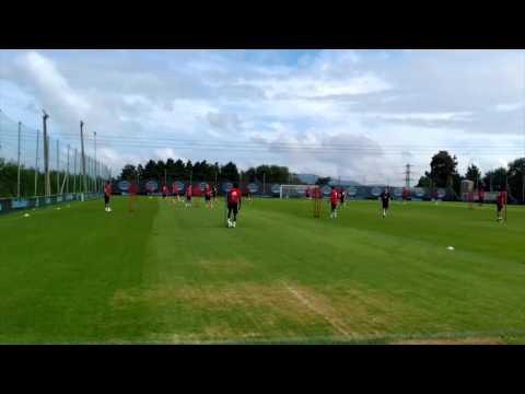 Entrenamiento del RC Celta de Vigo