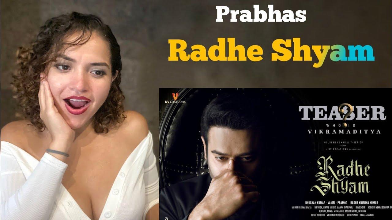 Download Prabhas As Vikramaditya   Character Teaser   Radhe Shyam   Pooja Hegde   Bhushan Kumar   Reaction