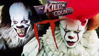IT (2017) The Kill Counter, Pennywise, Stephen King Horror Film