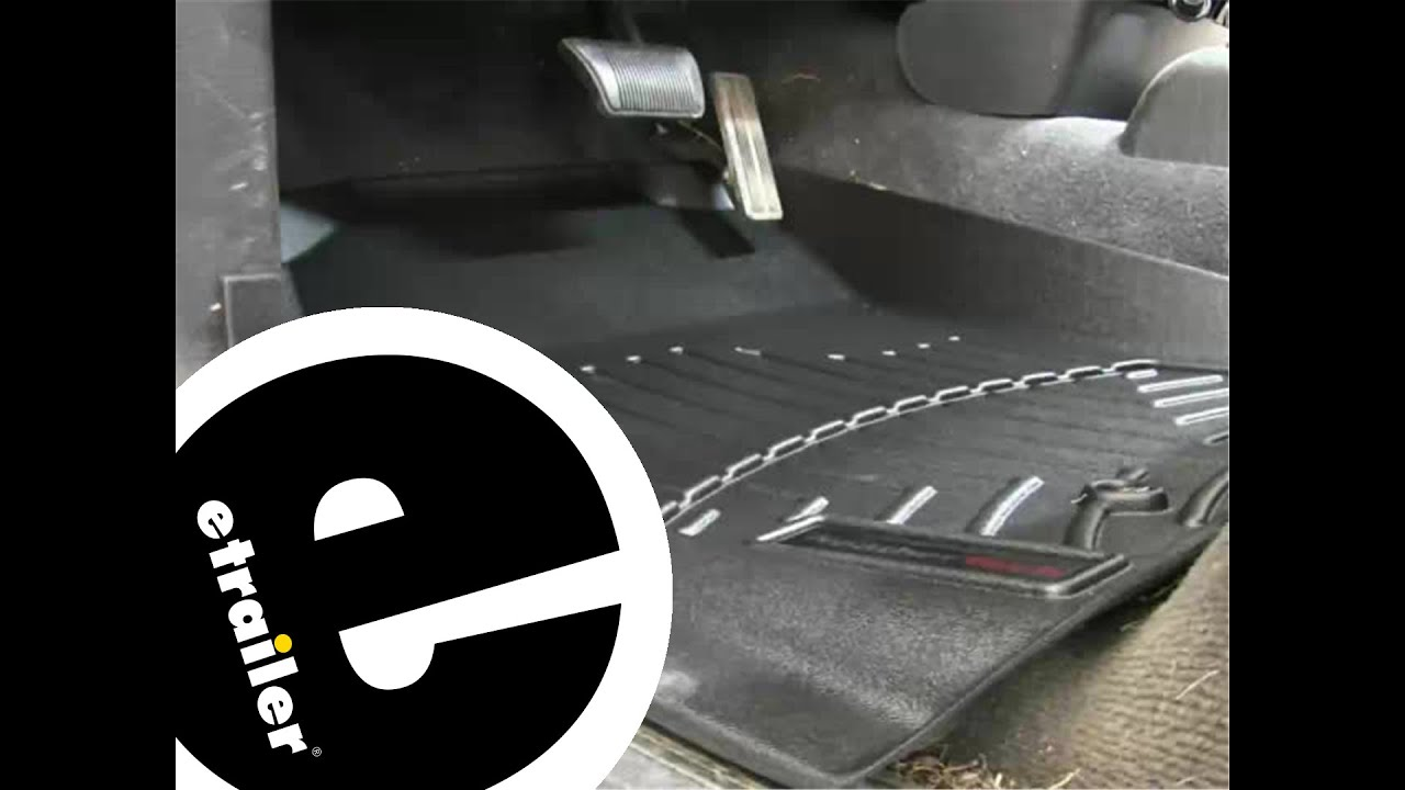 Weathertech floor mats dodge ram 2500 - Review Of The Weathertech Front Floor Liners On A 2003 Dodge Ram Etrailer Com