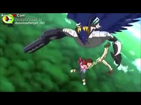 Digimon Xros Wars  Episode 18  Falling