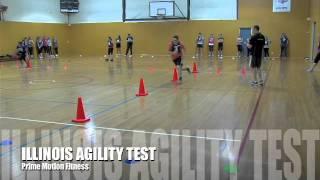 Victoria Police - Illinois Agility Test