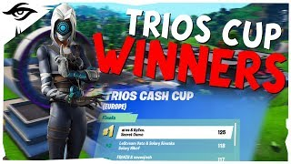 TRIOS CUP WINNERS // Secret Osmo ft. Kylixx & Ares Fortnite