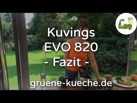 Kuvings EVO 820 Teil 3 - Zusammenfassung zum Slow Juicer