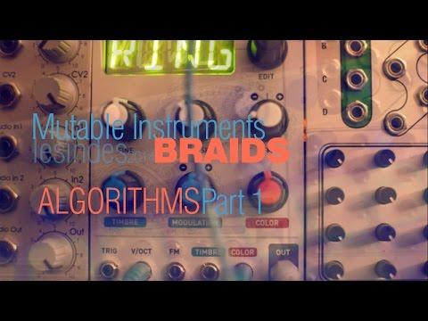 Mutable Instruments BRAIDS // Algorithms // Part 1