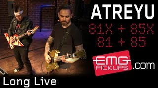 "Atreyu performs ""Long Live"" live on EMGtv"