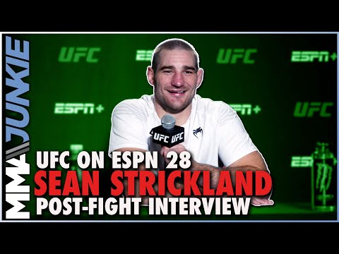 Sean Strickland critical of Uriah Hall win: ''I kind of hit like a pansy' | UFC on ESPN 28