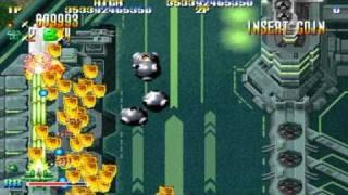 [HD] GigaWing Stage 2-3 1999 Capcom Mame Retro Arcade Games