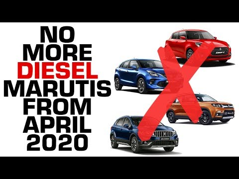 BS6 Effect: NO Maruti Diesel Cars From April 2020 | #In2Mins | CarDekho.com