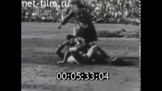 У спортсменов Тувы.Советский спорт 1971 № 11