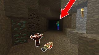 ARDA VE RÜZGAR ZOMBİ DOLU MAĞARAYA GİRDİ! 😱 - Minecraft