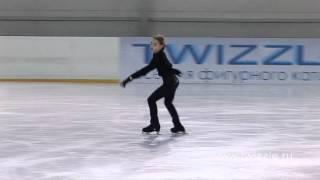 Аксель (2,5 оборота) в исполнении Аделины Сотниковой