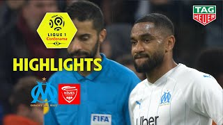Olympique de Marseille - Nîmes Olympique ( 3-1 ) - Highlights - (OM - NIMES) / 2019-20