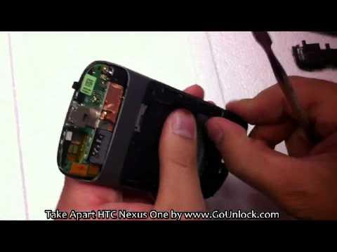 HTC Nexus One Screen Disassemble/Take Apart/Repair Video Guide