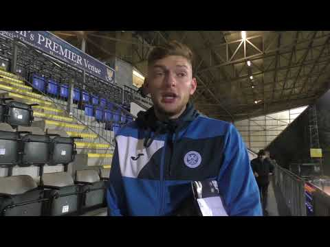 Liam Gordon speaking to Saints TV following the game with Hibs on 16th March 2018