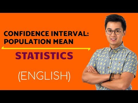 STATISTICS Introduction to Confidence Interval for Population Mean