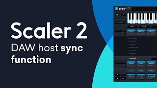 Scaler 2 New Feature | DAW Host Sync Function