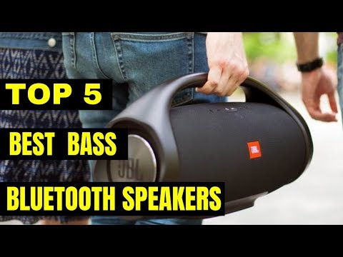 Best Bass Bluetooth Speakers 2019
