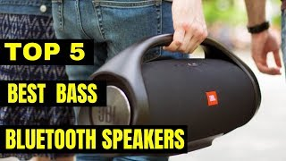 Best Bass Bluetooth Speakers 2019 Youtube