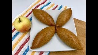 Пирожки из творожного теста с яблоками | Тесто из творога для пирожков