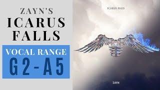 Zayn Malik Icarus Falls - Album Vocal Range G2-A5