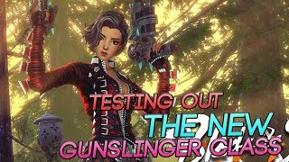 Blade and Soul - Testing Out The New GUNSLINGER Class!
