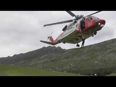 SARDA IN helicopter training with Irish Coastguard
