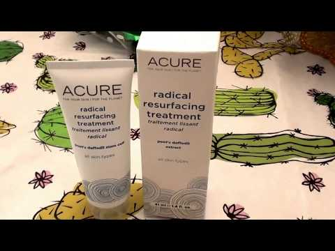 Acure Organics Radical Resurfacing Treatment All Skin Types REVIEW