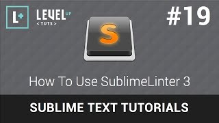 Sublime Text Tutorials #19 - How To Use SublimeLinter 3