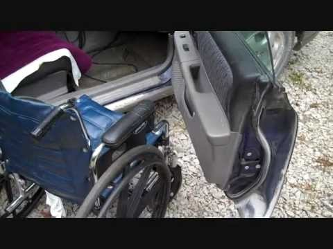 Wheelchair Transfer To Car Part 1