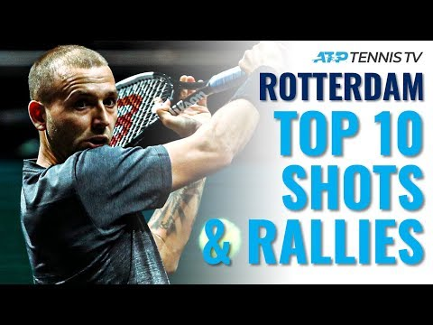 Top 10 Best Shots & Rallies! | Rotterdam 2020