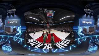 **360 click around** get closer to the action and experience best plays so far of this nba in vr season! https://nextvr.com/nba