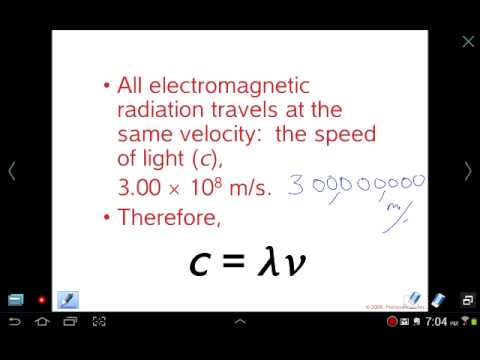 Mr Z AP Chemistry Chapter 6 lesson 1: Light, Wavelength, Fre
