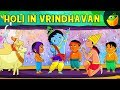 वृंदावन में होली | Holi in Vrindhavan | Krishna Vs Demons | Magicbox Animations