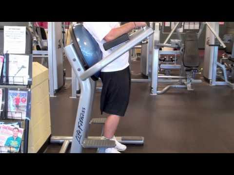 Roman Chair Leg Raise  YouTube