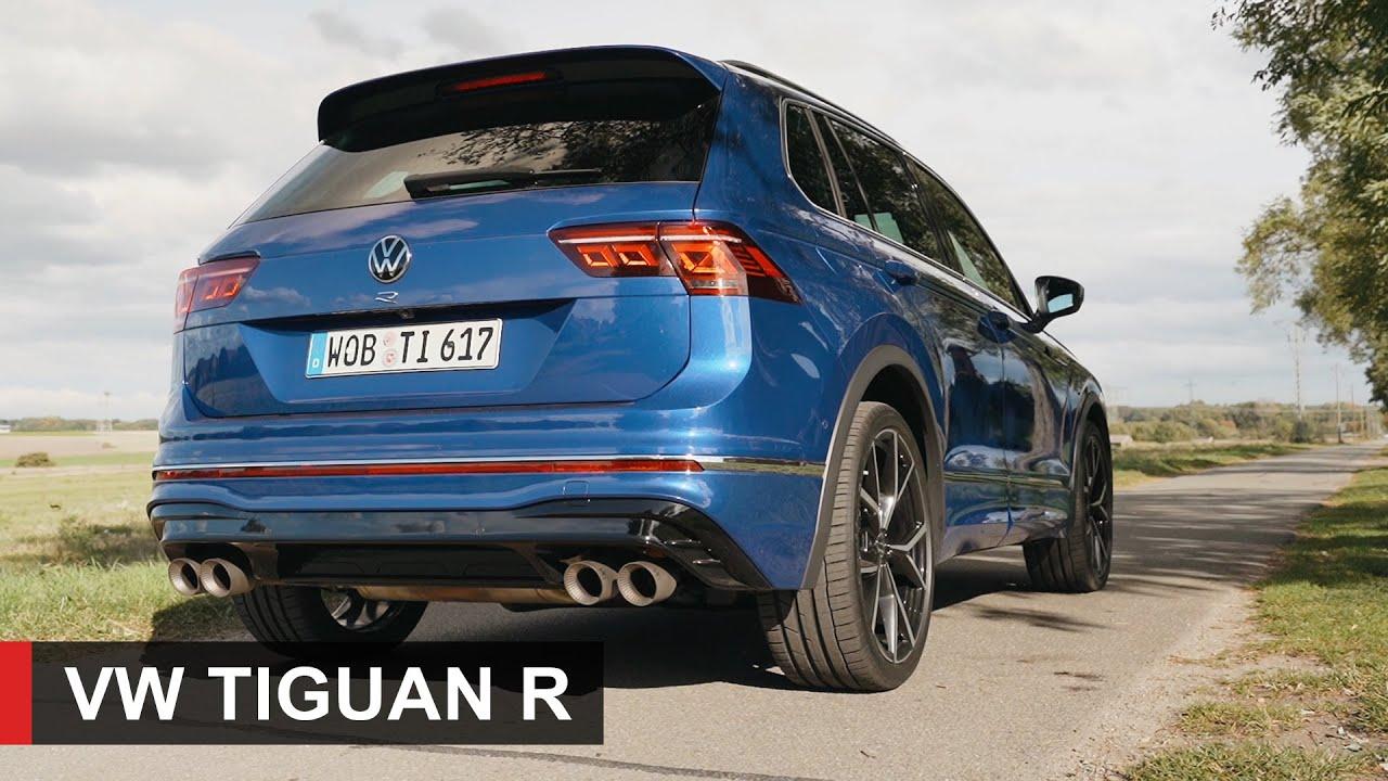 2021 VW Tiguan R - Pure Sound, Launch Control - YouTube