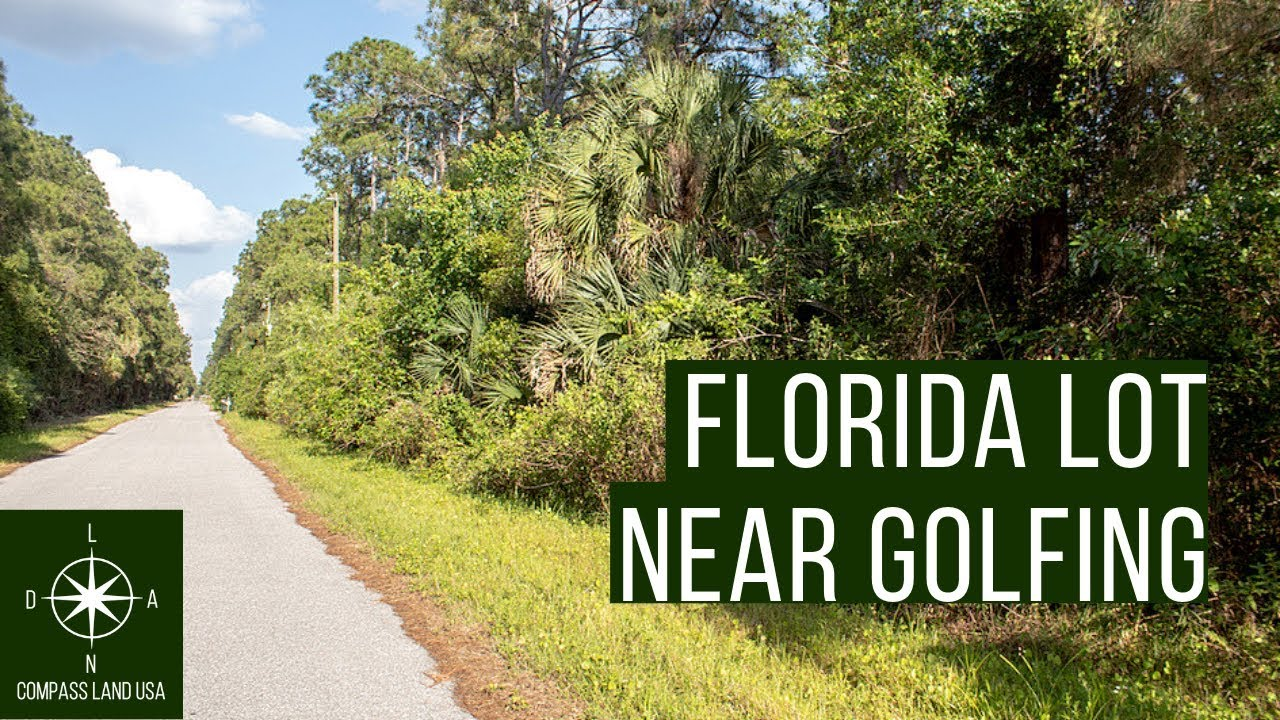 Sold by Compass Land USA - Quarter Acre Florida Land for Sale, Buildable Near Golf
